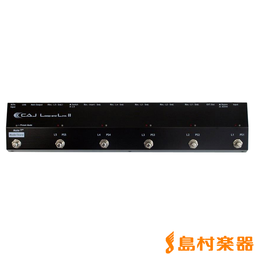 CAJ (Custom Audio Japan) Loop and Link II スイッチャー 【カスタムオーディオジャパン ループアンドリンク2】