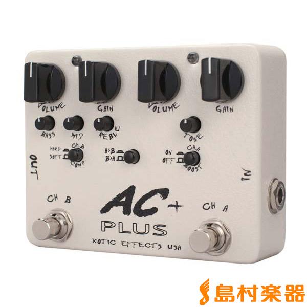 XOTIC AC Plus オーバードライブ エフェクター 【エキゾチック】