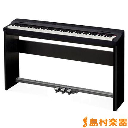 CASIO PX160BK Privia 電子ピアノ プリヴィア PX-160BK 専用スタンド・ペダルセット 【カシオ】【別売り延長保証対応プラン:E】