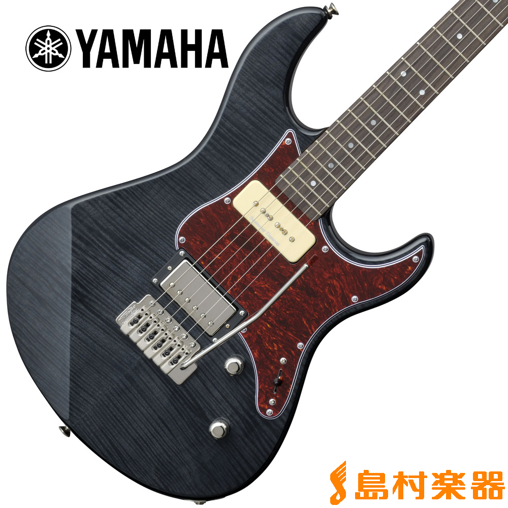 YAMAHA PACIFICA611VFM TBL(トランスルーセントブラック) エレキギター パシフィカ 【ヤマハ】