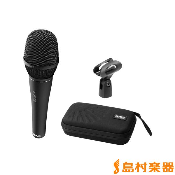 DPA ワイヤードタイプ II ボーカルマイクロホン Microphones FA4018VDPAB コンデンサーマイク d:facto
