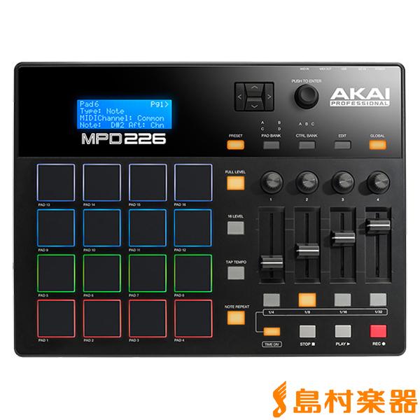 AKAI MPD226 MIDI コントローラー 【アカイ】