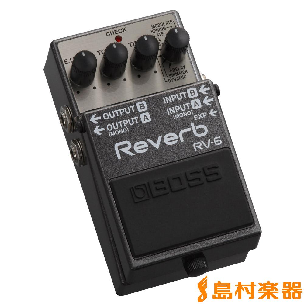 BOSS RV-6 リバーブ エフェクター 【ボス RV6】