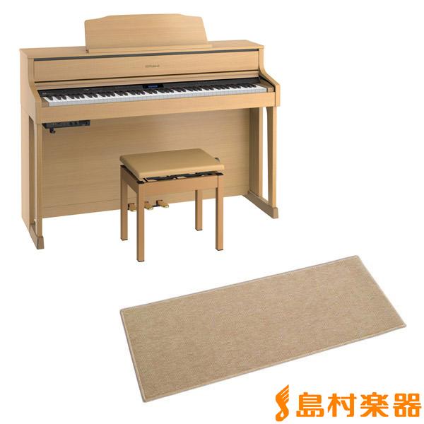 Roland HP605 NBS カーペット(小)セット 電子ピアノ 88鍵盤 【ローランド HP605+CPT100M】【配送設置無料・代引き払い不可】【別売り延長保証対応プラン:C】