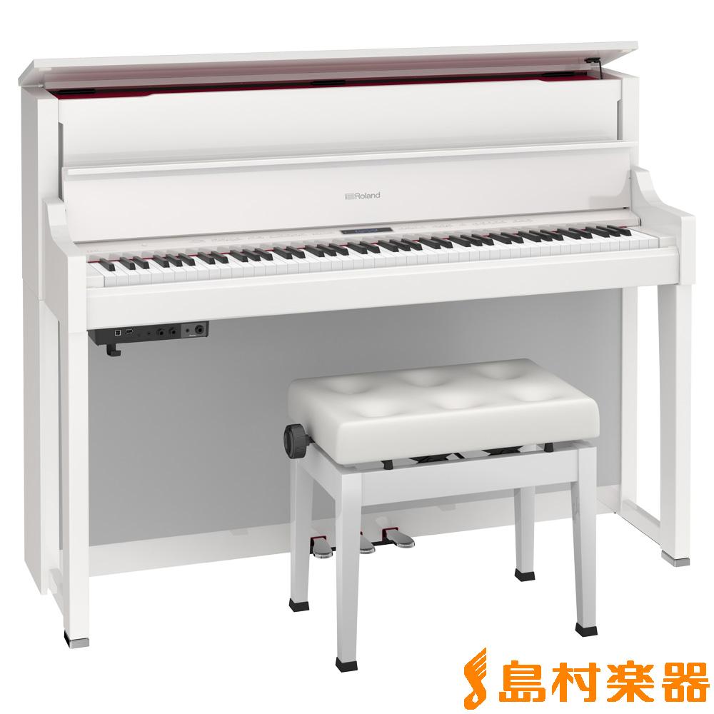 Roland LX-17 PWS (白塗鏡面艶出し塗装仕上げ) 電子ピアノ 88鍵盤 【ローランド LX17】【配送設置無料・代引き払い不可】【別売り延長保証対応プラン:Q】