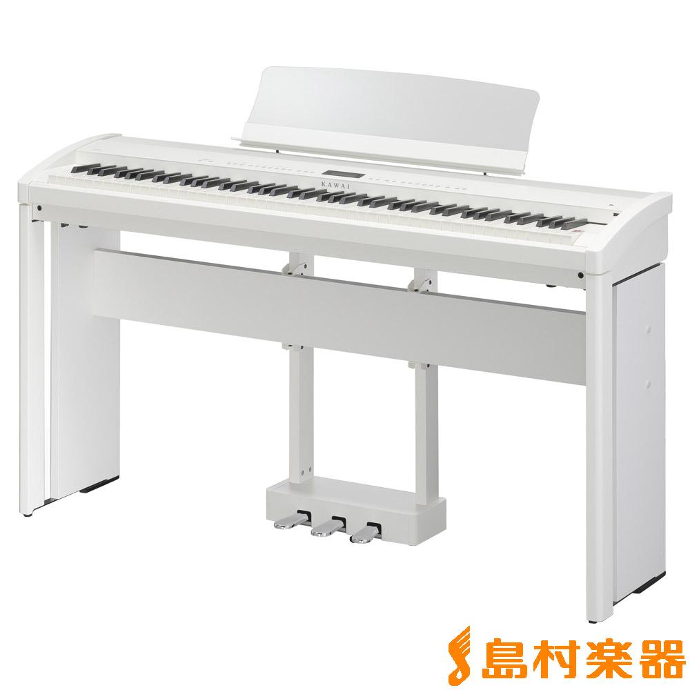 KAWAI ES8 SW スタンド・ペダルセット (スノーホワイト) 電子ピアノ 88鍵盤 【カワイ】【別売り延長保証対応プラン:D】