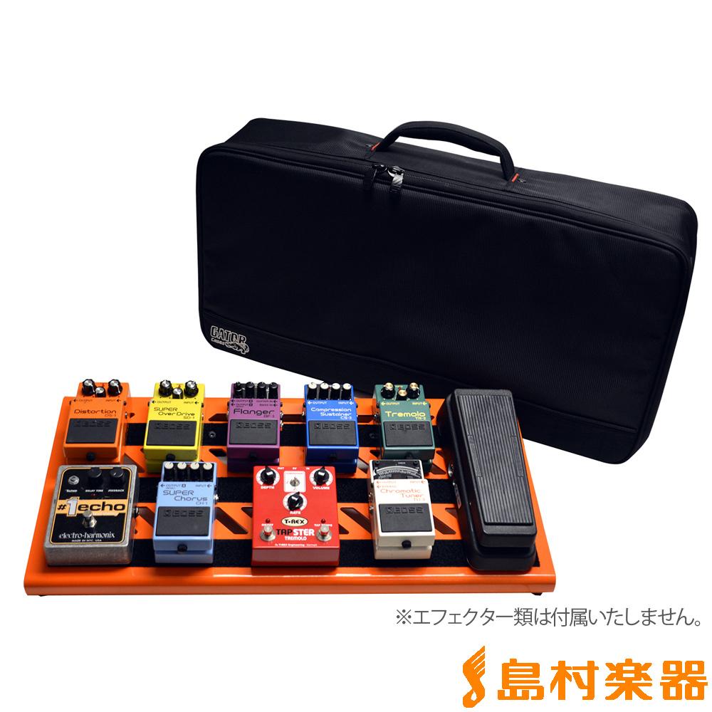GATOR GPB-BAK-OR オレンジ ボード付きエフェクターキャリーバッグ 【ゲーター GPBBAKOR】