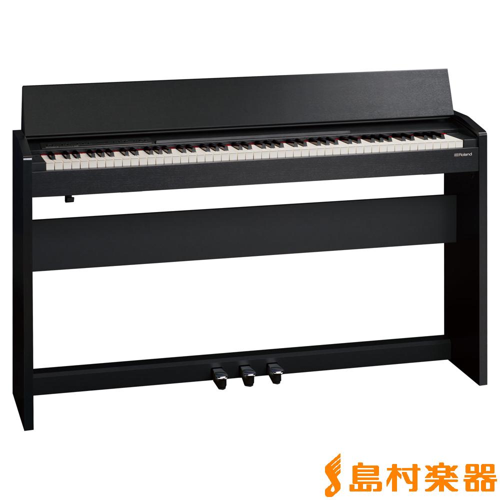 Roland F-140R CB (黒木目調仕上げ) 電子ピアノ 88鍵盤 【ローランド F140R】【配送設置無料・代引き払い不可】【別売り延長保証対応プラン:D】