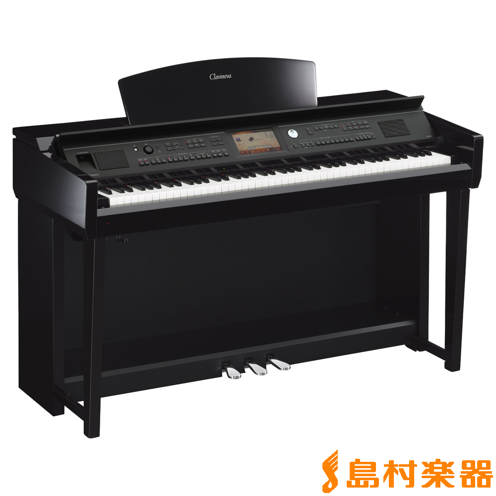 YAMAHA CVP-705PE (黒鏡面艶出し) 電子ピアノ クラビノーバ 88鍵盤 【ヤマハ CVP705 Clavinova】【配送設置無料・代引き払い不可】【別売り延長保証対応プラン:B】