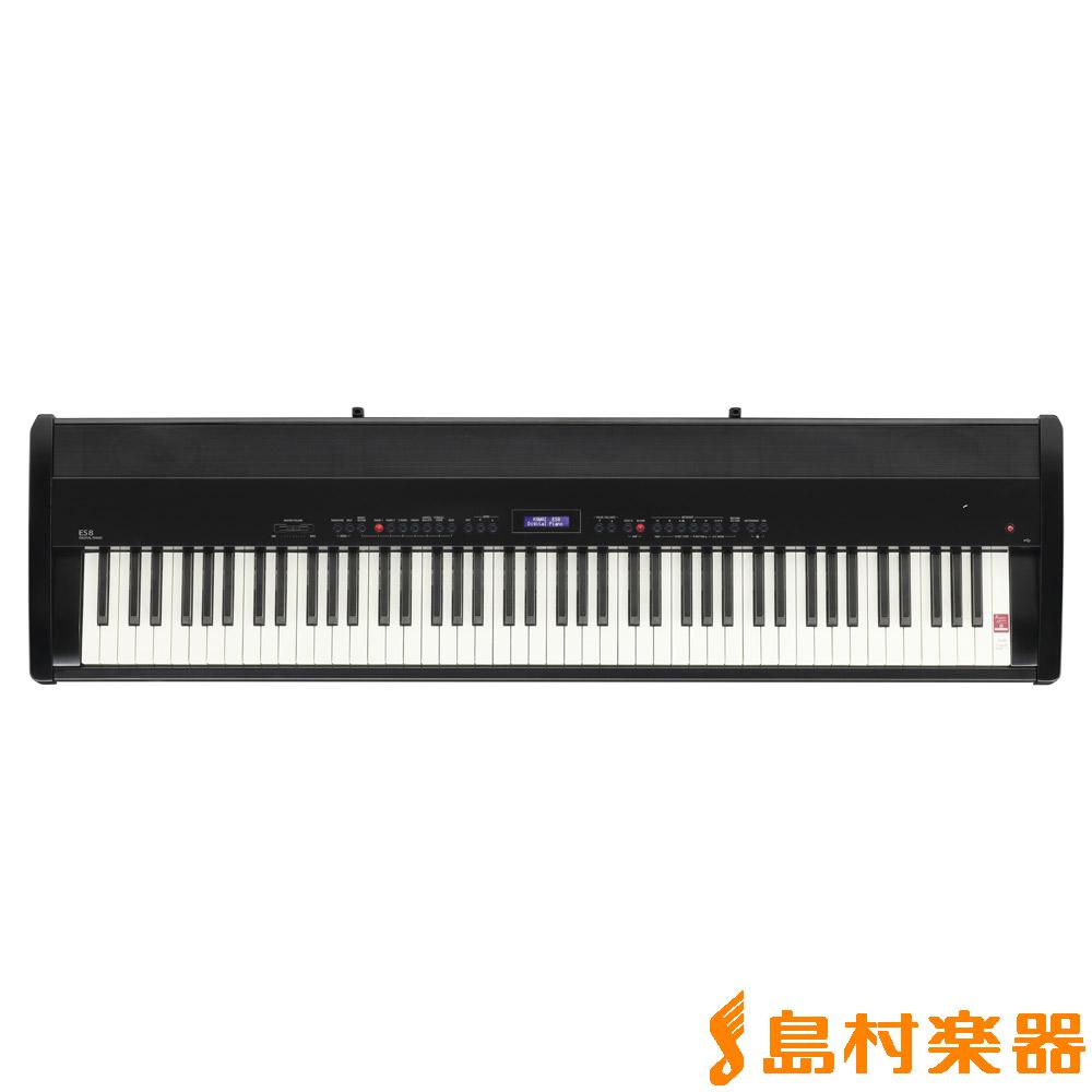 KAWAI ES8 B (グロスブラック) 電子ピアノ 88鍵盤 【カワイ】【別売り延長保証対応プラン:D】