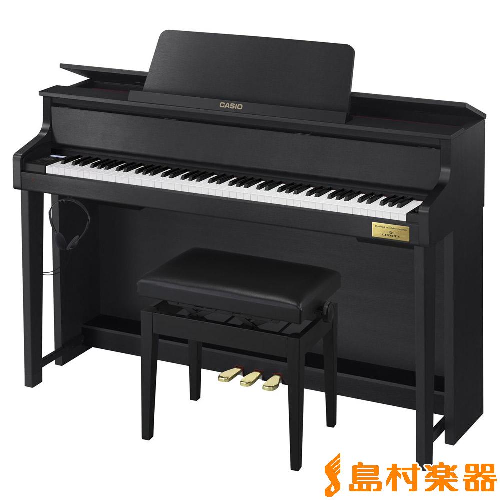 CASIO GP-300BK (ブラックウッド調) 電子ピアノ セルヴィアーノ 88鍵盤 グランドハイブリッド 【カシオ GP300】【配送設置無料・代引き払い不可】【別売り延長保証対応プラン:P】