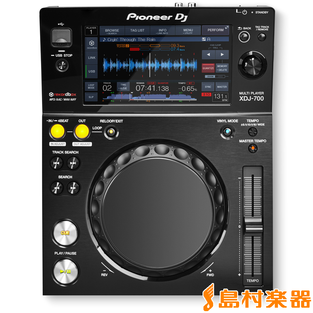 Pioneer DJ XDJ-700 パフォーマンスマルチプレーヤー 【パイオニア XDJ700】