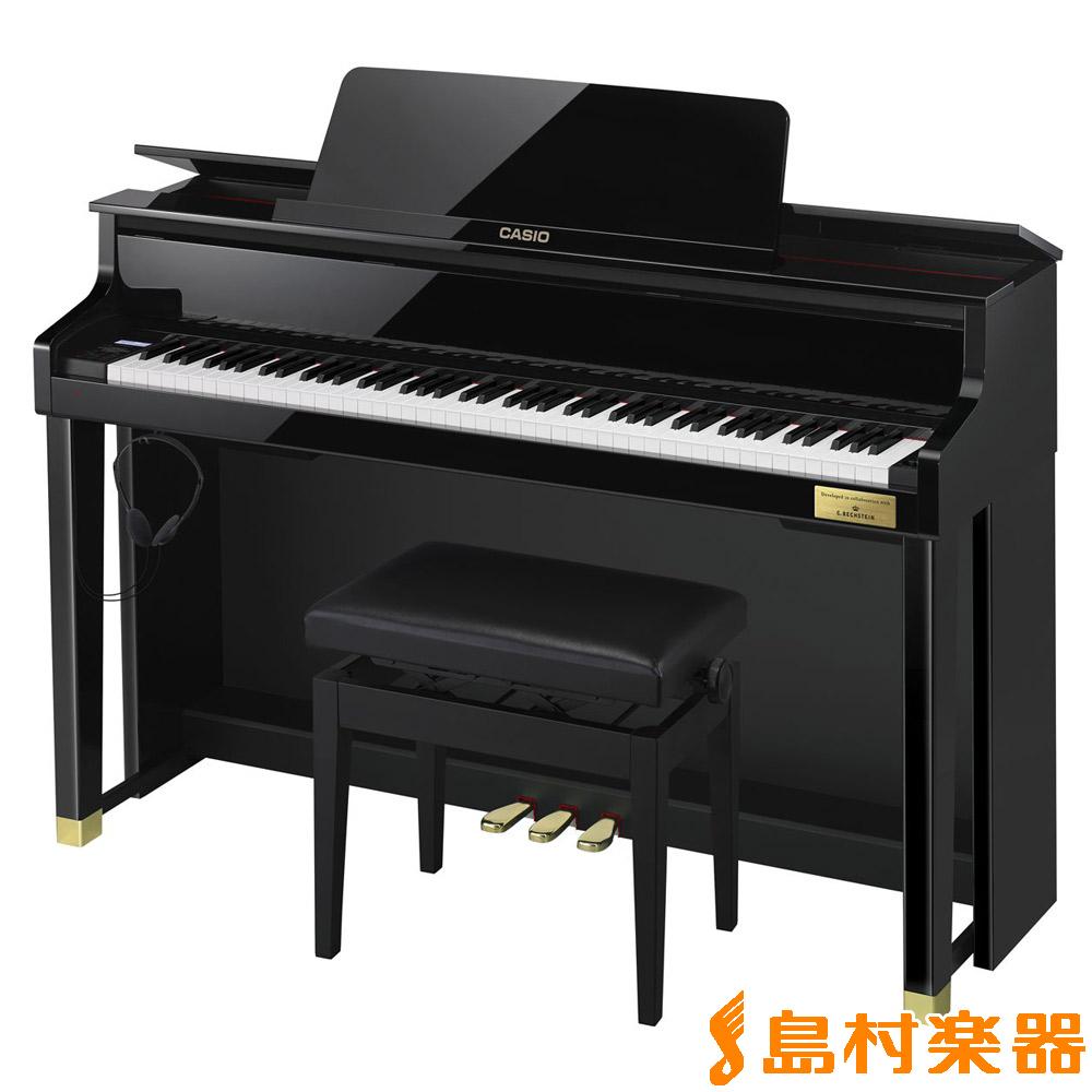 CASIO GP-500BP (ブラックポリッシュ仕上げ) 電子ピアノ セルヴィアーノ 88鍵盤 グランドハイブリッド 【カシオ GP500】【配送設置無料・代引き払い不可】【別売り延長保証対応プラン:R】