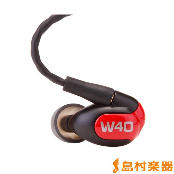 Westone Universal W40 BAインイヤーイヤホン 【フェースプレート3色付属】 【ウェストン】