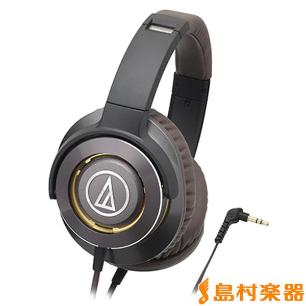 audio-technica ATH-WS770 ヘッドホン SOLID BASS 【ガンメタリック】 【オーディオテクニカ】