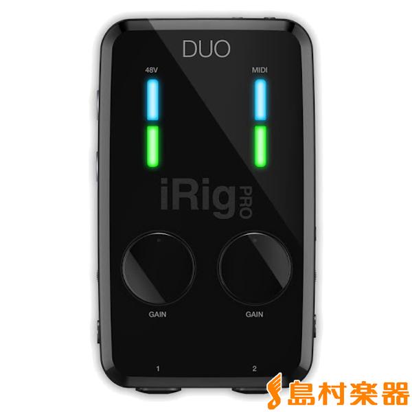 IK Multimedia iRig PRO Duo オーディオMIDIインターフェイス 【IKマルチメディア】【国内正規品】