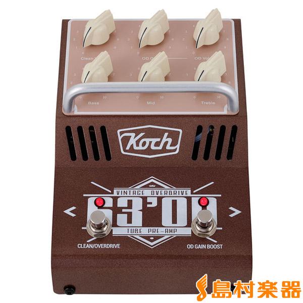 Koch 63'OD 真空管プリアンプ エフェクター 【コッホ 63OD】