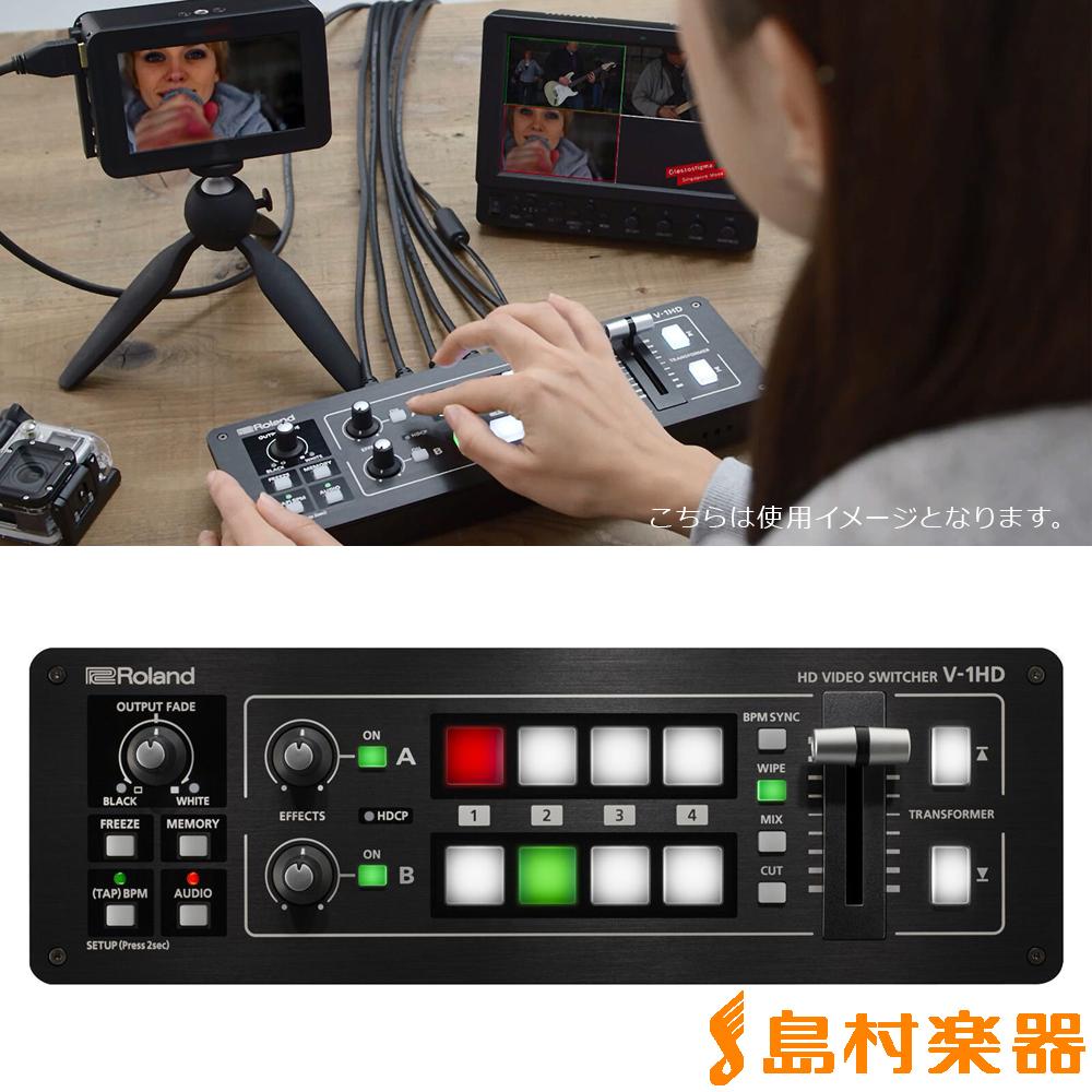 Roland V-1HD V1HD】 コンパクトHD Roland ビデオスイッチャー【ローランド V1HD V-1HD】, 御殿場市:6a800292 --- officewill.xsrv.jp