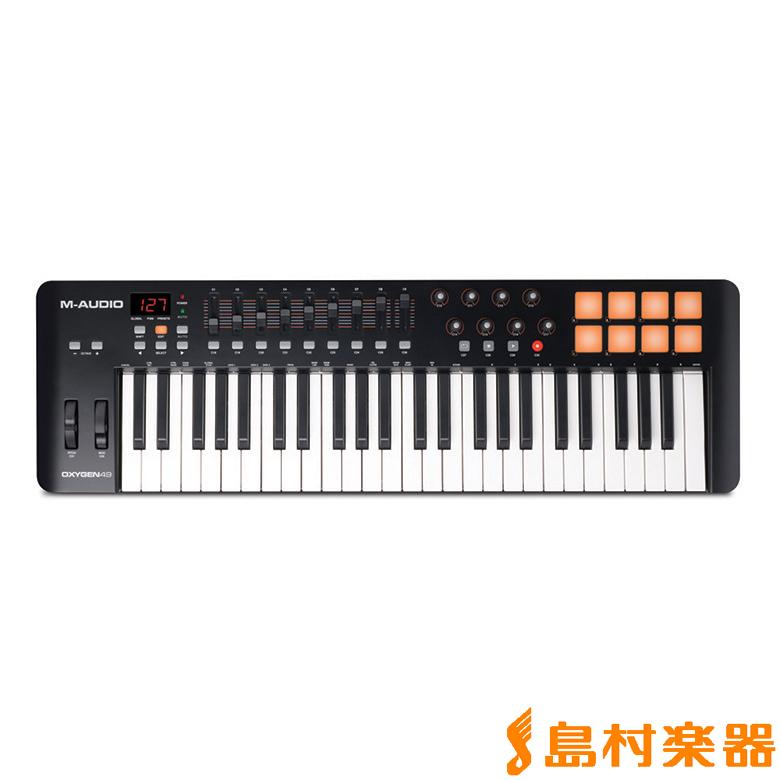 M-AUDIO Oxygen 49 MIDIキーボード 49鍵 【Mオーディオ】