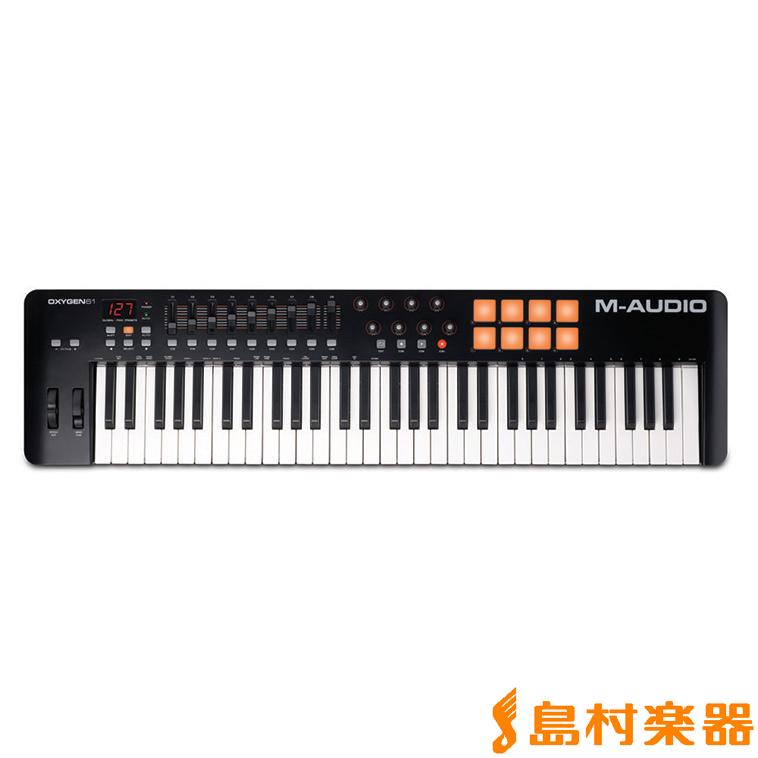 M-AUDIO Oxygen 61 MIDIキーボード 61鍵 【Mオーディオ】