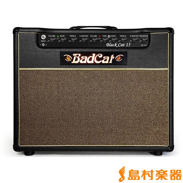 BadCat Black Cat 15 2016 ギターアンプ 15W 【真空管】【フルチューブ】 【バッドキャット】