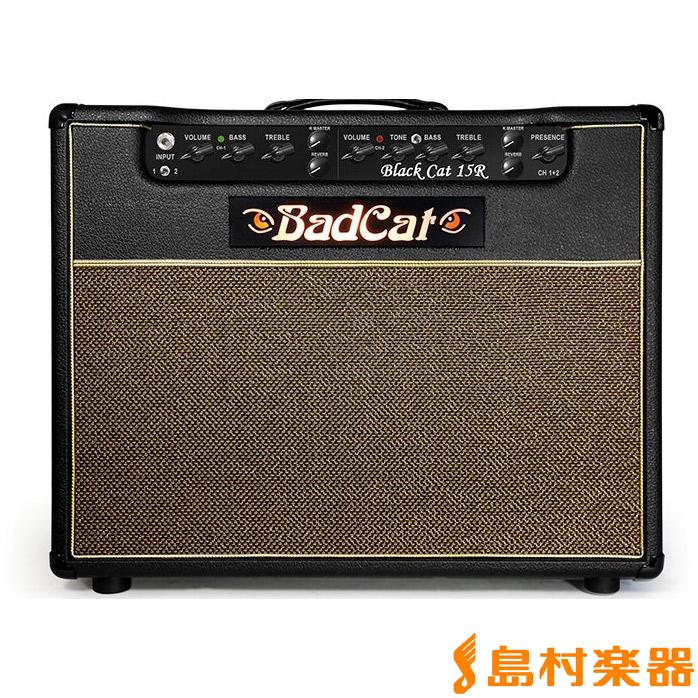 BadCat Black Cat 15R 2016 ギターアンプ 15W 【リバーブ搭載】【真空管】【フルチューブ】 【バッドキャット】