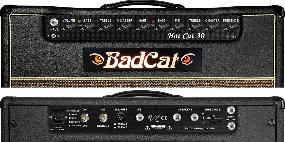BadCat Hot Cat 30 2016吉他放大器30W