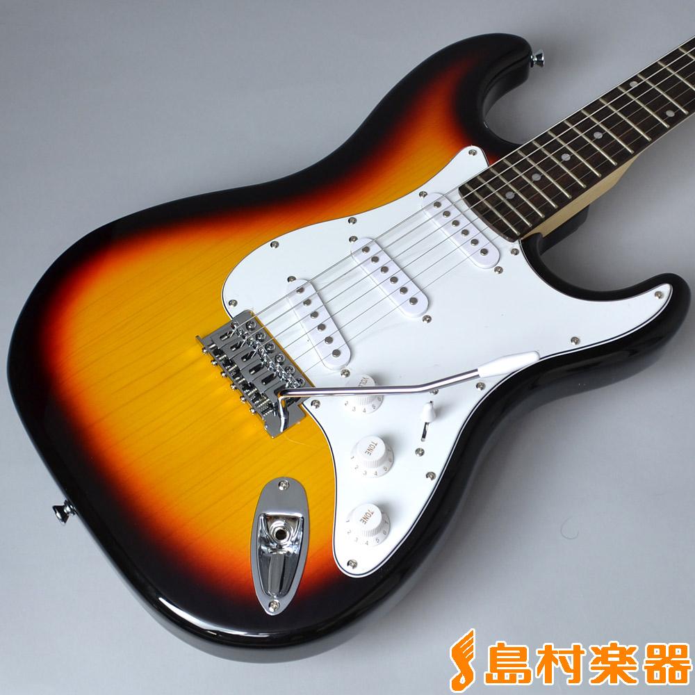 Vanguard VST-01 3TS(3トーンサンバースト) エレキギターSTタイプ 【バンガード VST01】