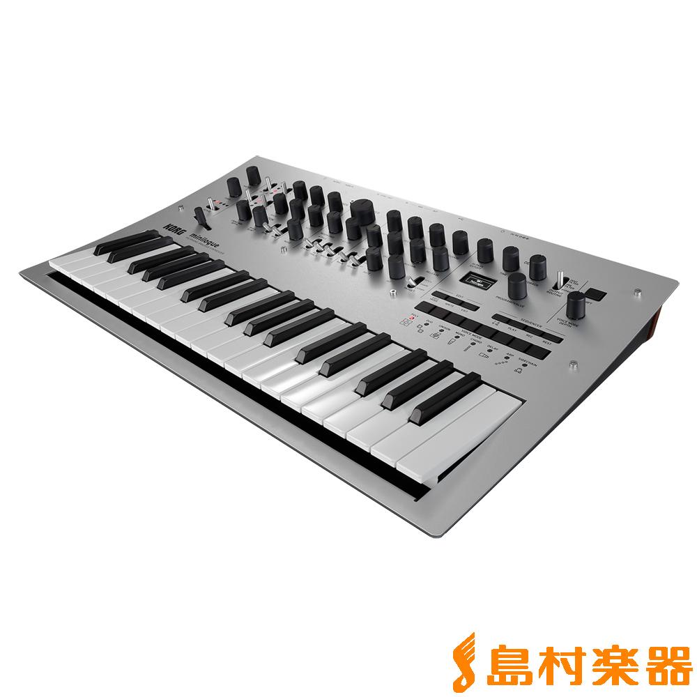 KORG minilogue 37鍵盤 シンセサイザー アナログシンセサイザー 【コルグ】