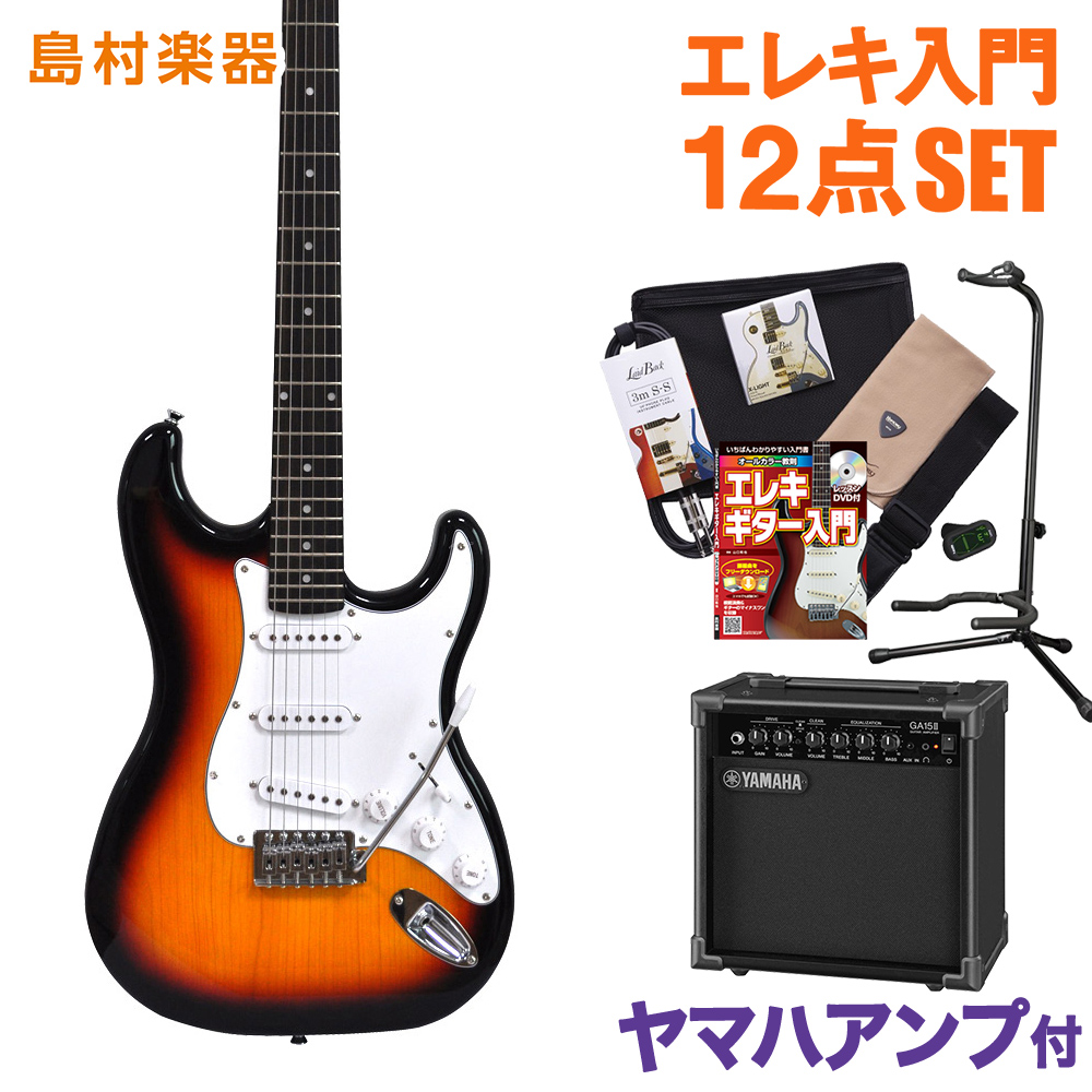 Vanguard VST-01 3TS ヤマハアンプセット エレキギター 初心者 セット 【バンガード】