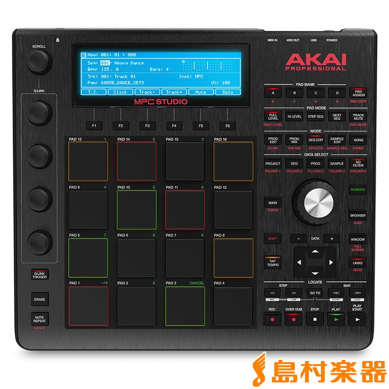 AKAI MPC STUDIO BLACK 音楽制作システム 【アカイ】