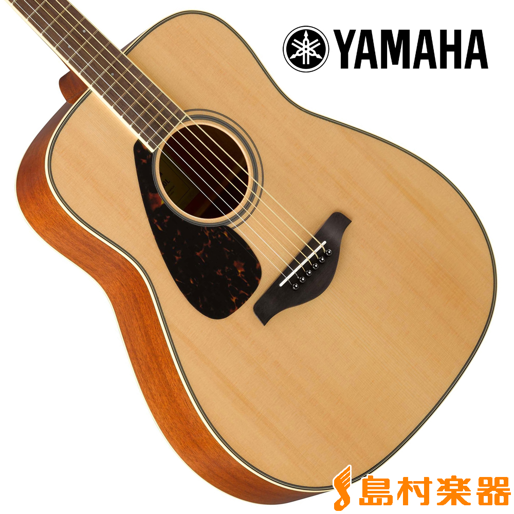 YAMAHA FG820L NT(ナチュラル) アコースティックギター 【左利き/レフトハンド】 【ヤマハ】