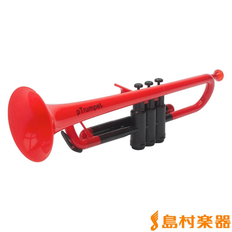 pInstruments pTrumpet Red プラスチック トランペット 【ピーインストゥルメンツ】