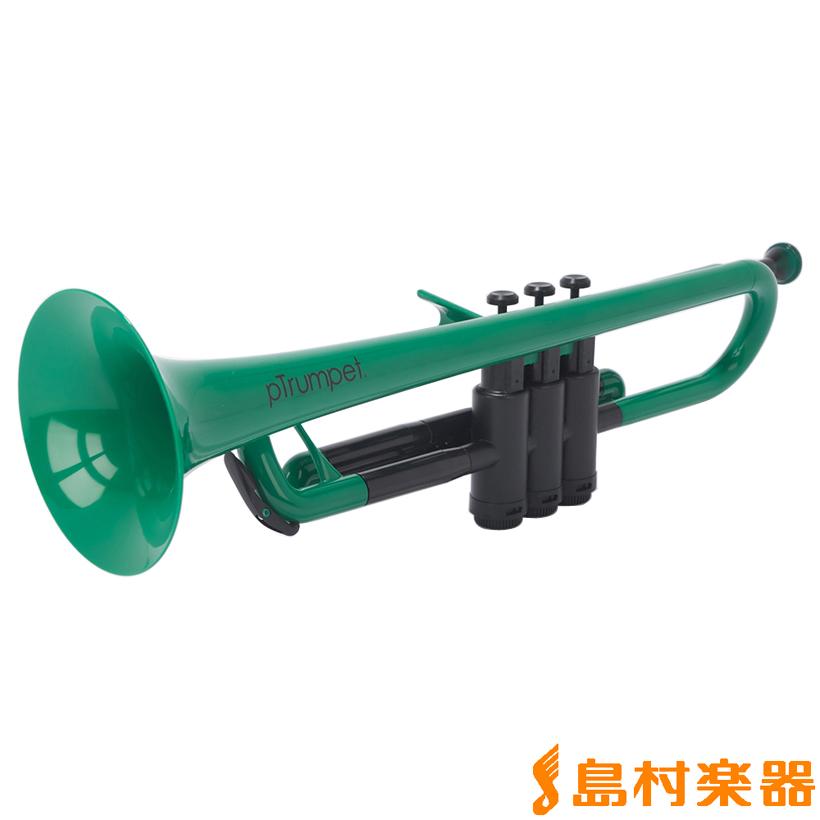 pTrumpet Green (グリーン) プラスチックトランペット