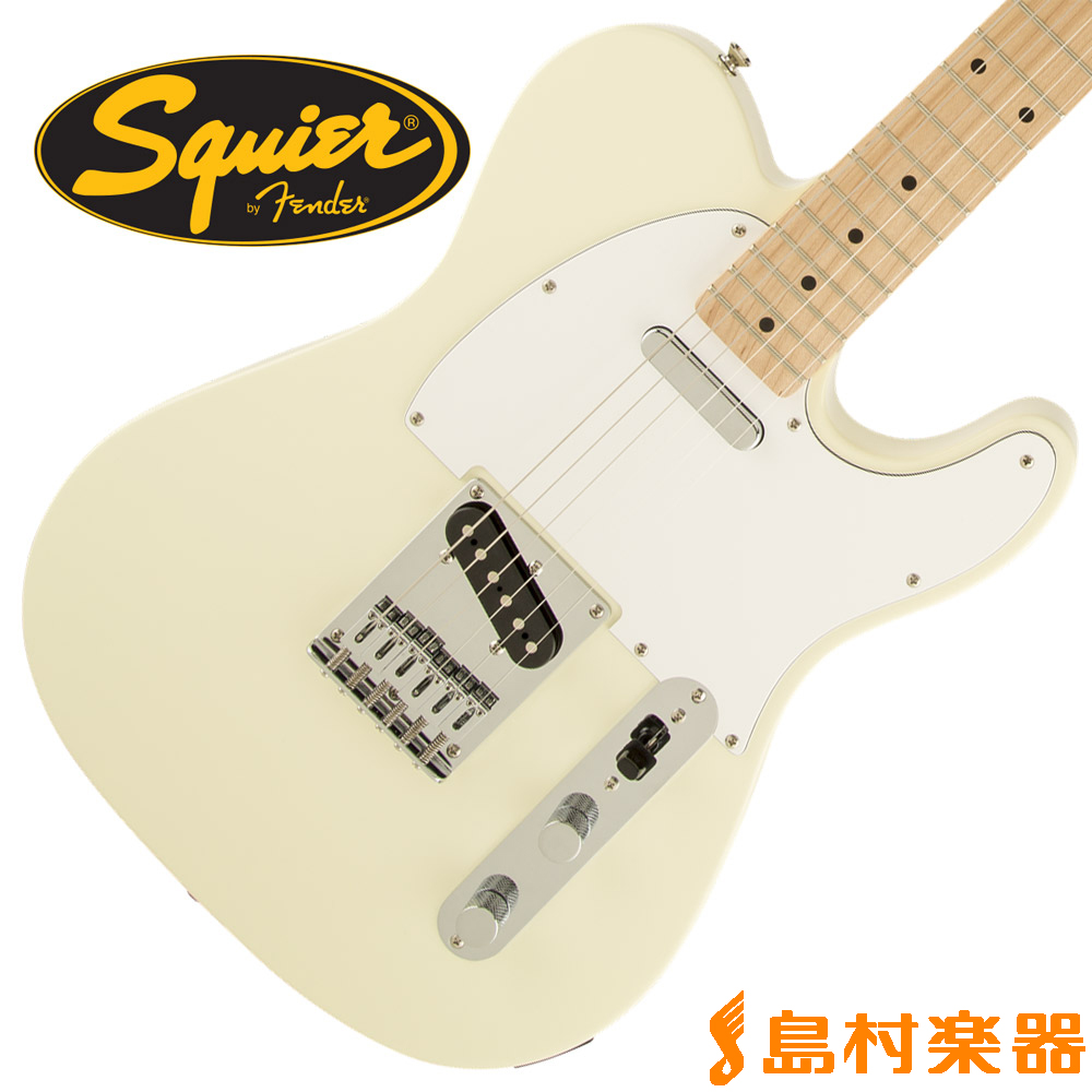 Squier by Fender Affinity Series Telecaster Maple Fingerboard AWT(アークティックホワイト) テレキャスター 【スクワイヤー / スクワイア】