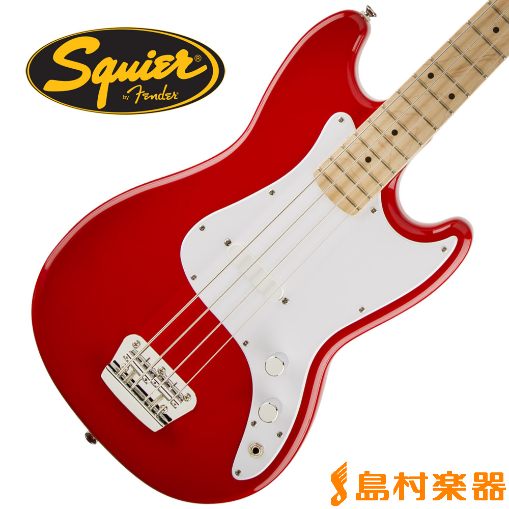 Squier by Fender Bronco Bass Maple Fingerboard Bass TRD(トリノレッド) Bronco by ベース【スクワイヤー/ スクワイア】, ロコブティック:54d840a0 --- sunward.msk.ru
