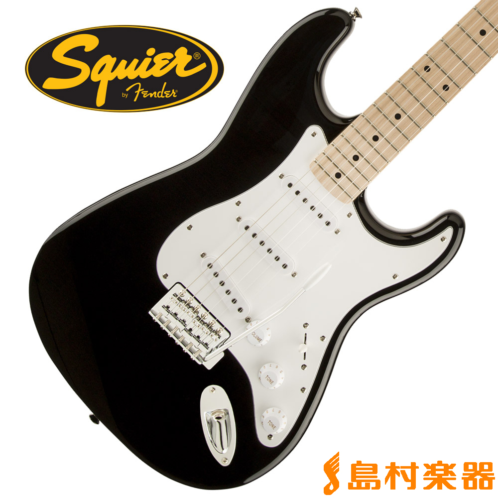 Squier by Fender Affinity Series Stratocaster Maple Fingerboard BLK(ブラック) ストラトキャスター 【スクワイヤー / スクワイア】