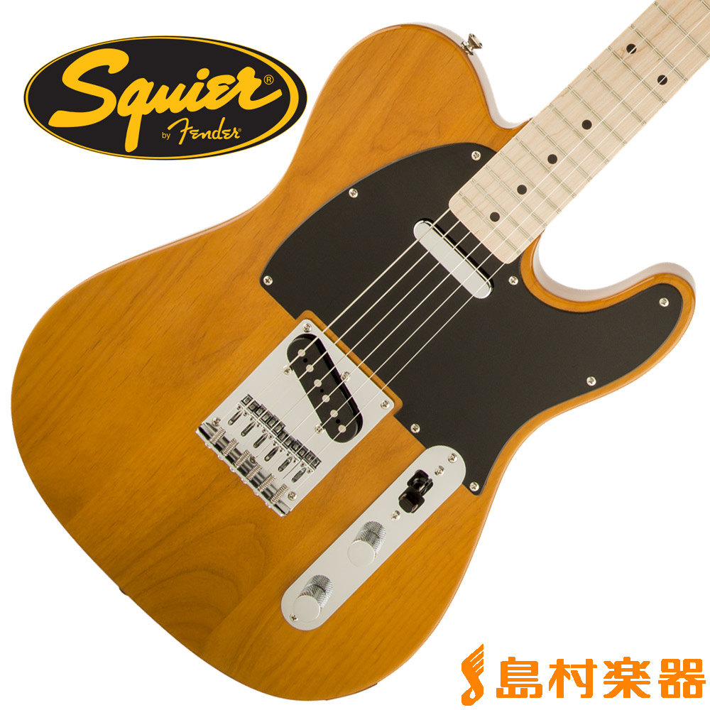 Squier by Fender Affinity Series Telecaster Maple Fingerboard BTB(バタースコッチブロンド) テレキャスター 【スクワイヤー / スクワイア】
