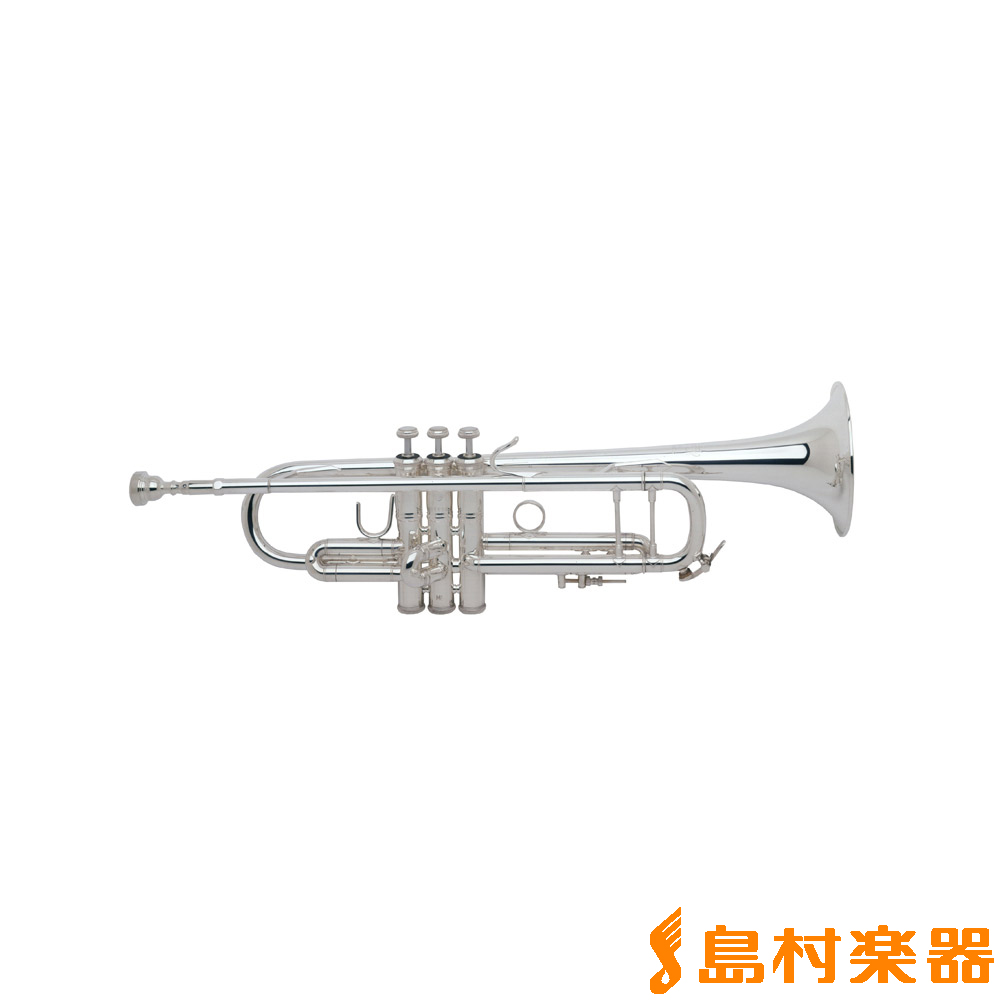 Bach 180ML37SP イエローブラス・シルバー仕上げ B♭ トランペット 【37ベル】 【バック】