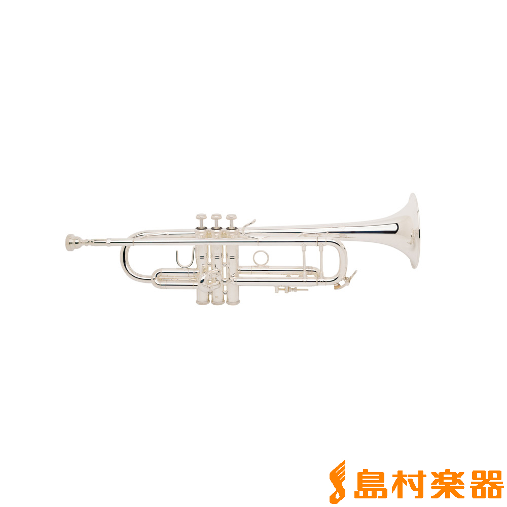 【トランペットスタンドプレゼント中】Bach 180MLV72SP イエローブラス・シルバー仕上げ B♭ トランペット 【72ベル】 【バック】