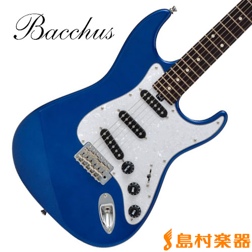 Bacchus G-PLAYER PLD/R DLPB(ダークレイクプラシッドブルー) ストラトキャスタータイプ(マッチングヘッド仕様) 【バッカス】