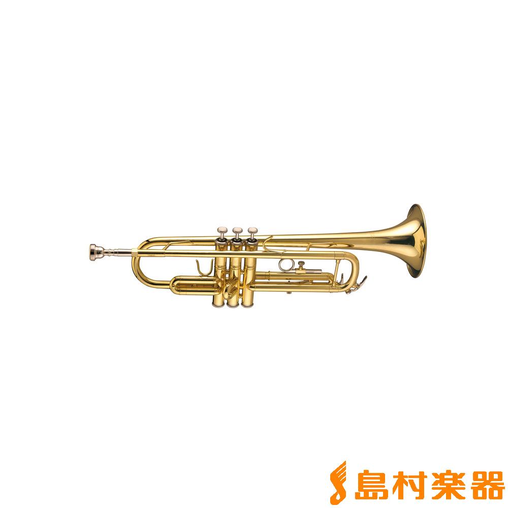 Bach TR600GL ゴールドラッカー仕上げ B♭ トランペット 【バック】