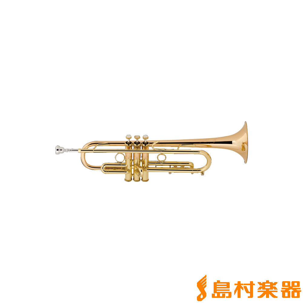 Bach LT190L1B Commercial Trumpet ラッカー仕上げ B♭ トランペット 【バック】