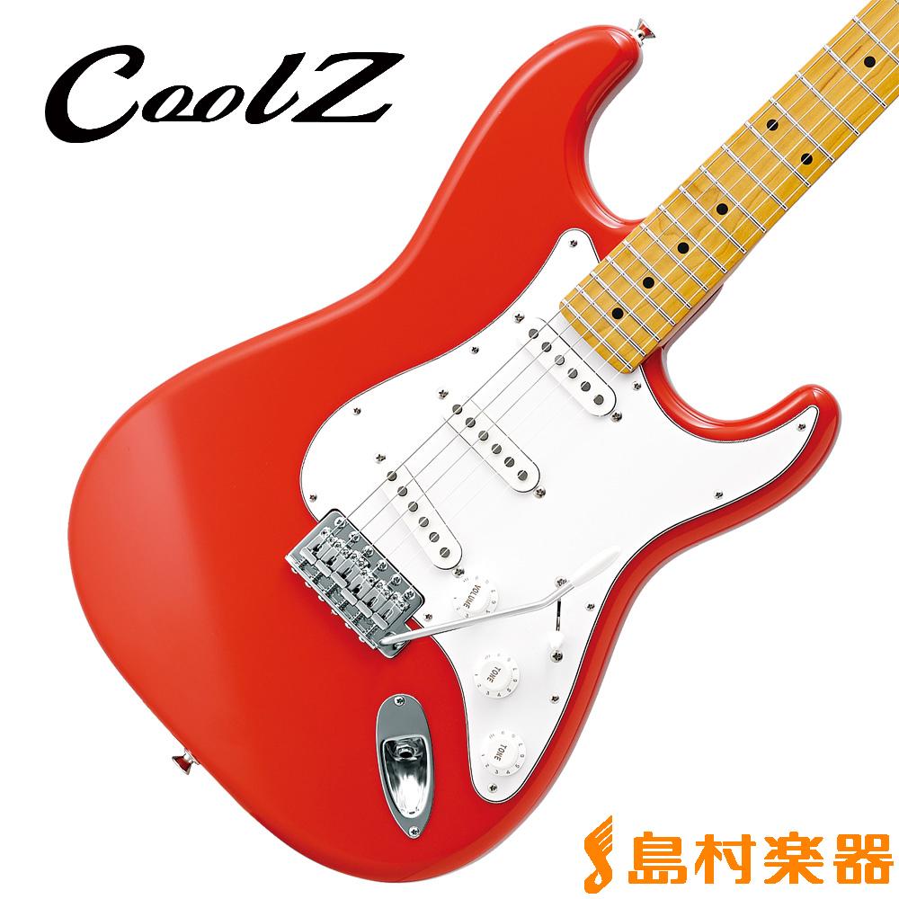 CoolZ ZST-V/M FRD(フィエスタレッド) エレキギター 【クールZ】【Vシリーズ】