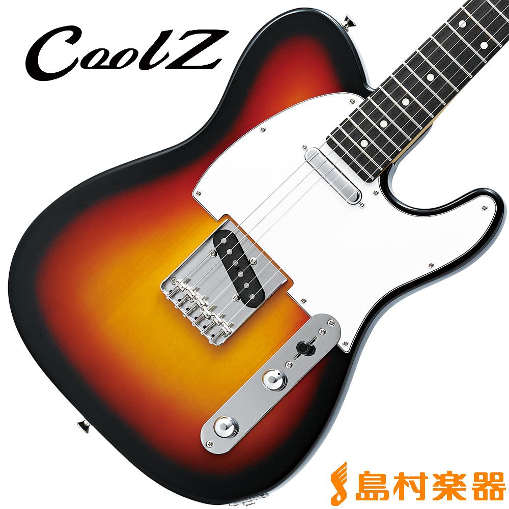 CoolZ ZTL-V/R 3TS(3トーンサンバースト) エレキギター 【クールZ】【Vシリーズ】
