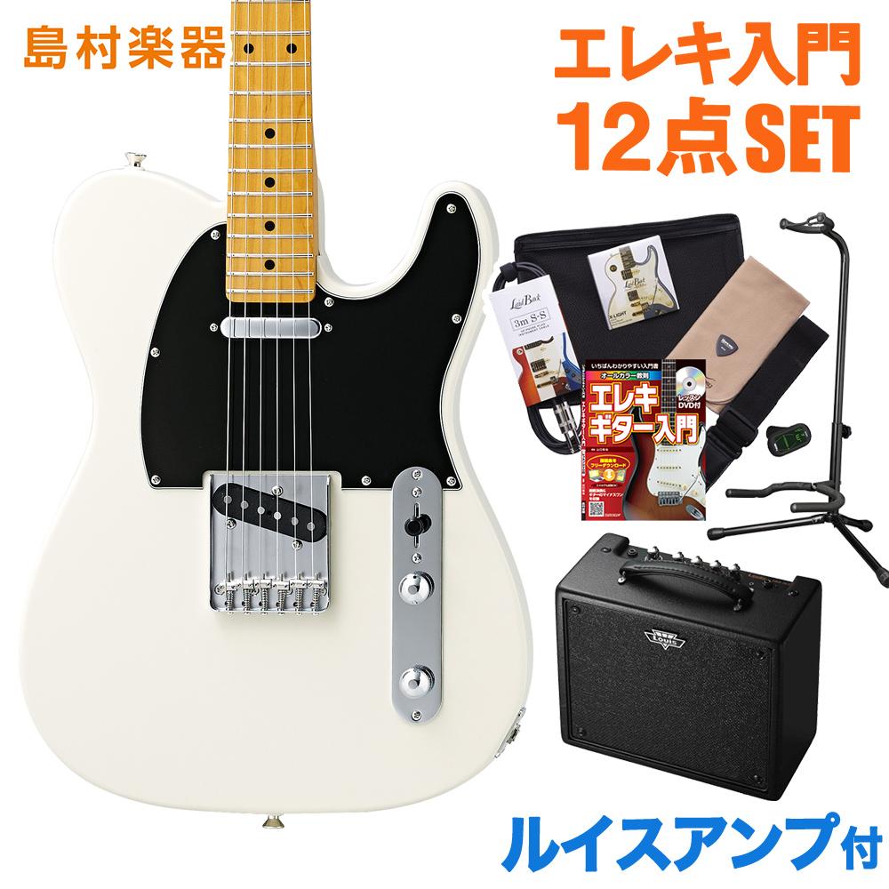 CoolZ ZTL-V/M VWH(ビンテージホワイト) ルイスアンプセット エレキギター 初心者 セット 【クールZ】【Vシリーズ】