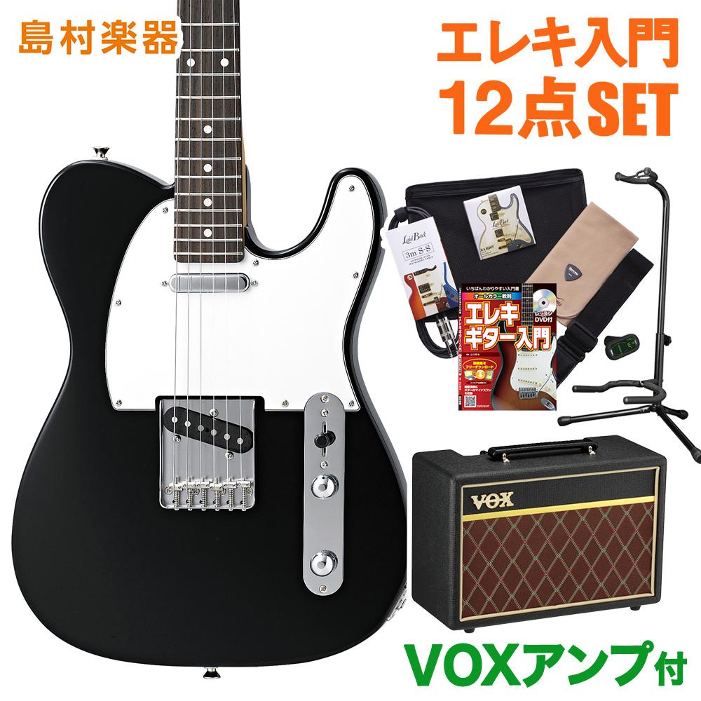 CoolZ ZTL-V/R BLK(ブラック) VOXアンプセット エレキギター 初心者 セット 【クールZ】【Vシリーズ】