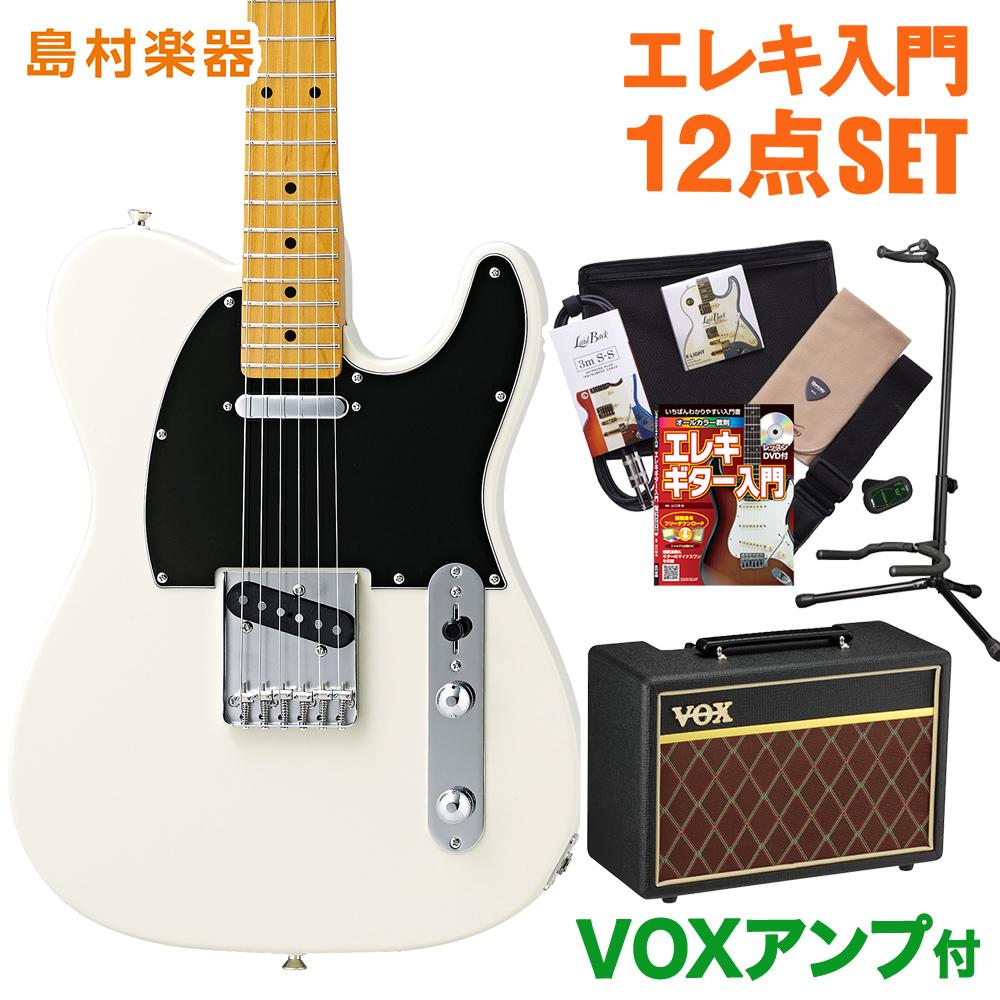 CoolZ ZTL-V/M VWH(ビンテージホワイト) VOXアンプセット エレキギター 初心者 セット 【クールZ】【Vシリーズ】