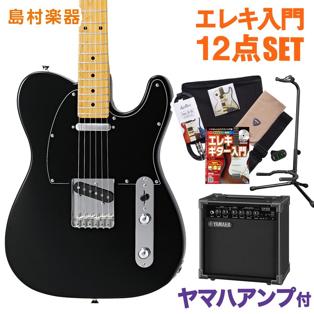 CoolZ ZTL-V/M BLK(ブラック) ヤマハアンプセット エレキギター 初心者 セット 【クールZ】【Vシリーズ】