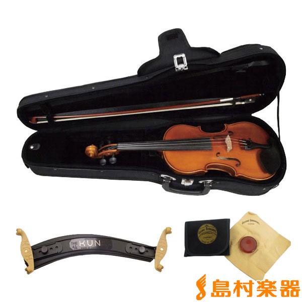 EASTMAN SVL80セット 4/4 バイオリン 初心者セット 【マイスター茂木監修】 【イーストマン 入門用 レッスンにおすすめ】